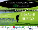 HORARIO DE SALIDA CIRCUITO MATCH QUALITY GOLF